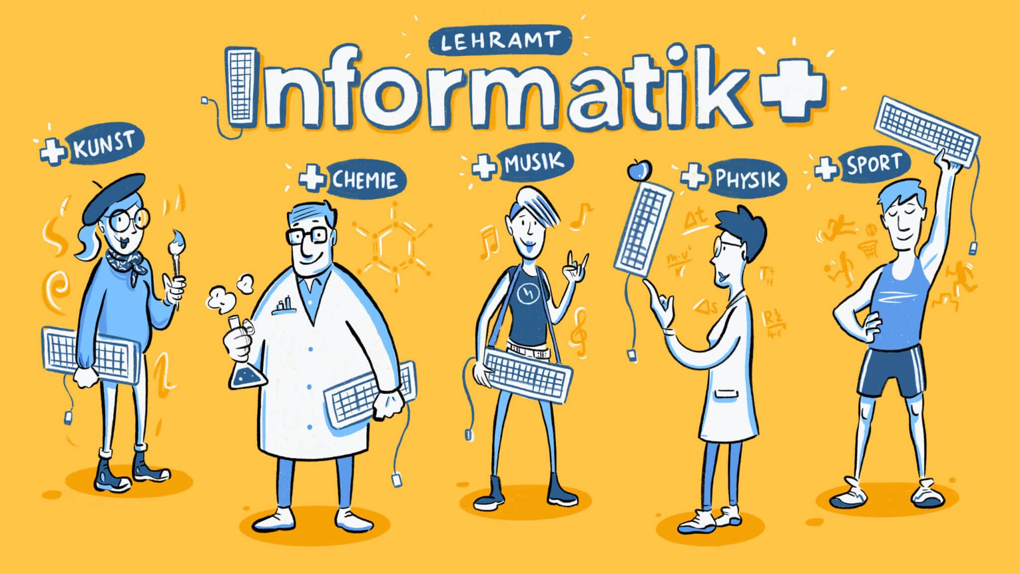 Neu: Wichtige Änderung im Lehramt Informatik